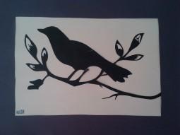 Bird Paper Art