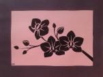 Orchid Paper Art